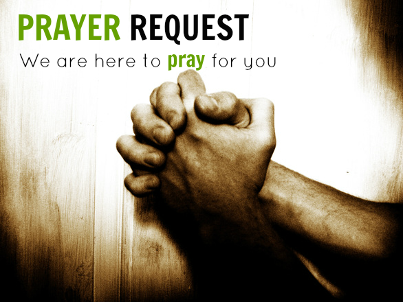 We are here to pray for you!